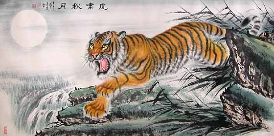 chinese-tiger-painting