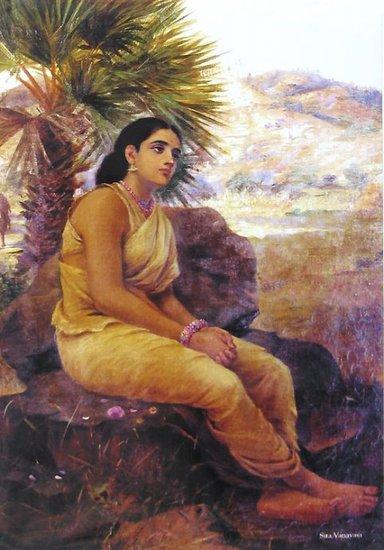 Indian Women Paintings
