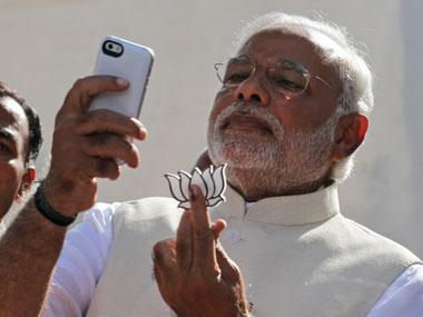 Modi-selfie