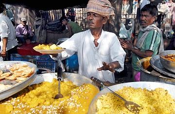 delhi food stall
